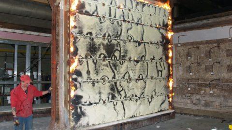Brandschutz-Sektionaltore - Feuerwiderstandsprüfung - Protec Industrial Doors