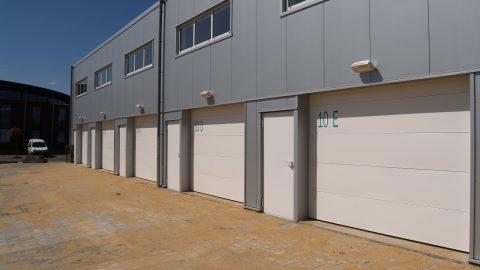 Brandschutz Sektionaltor - EN1634-1 - Protec Industrial Doors