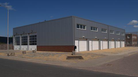 Feuerschutz Sektionaltor - EN1634-1 - Protec Industrial Doors