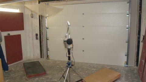 Schallschutz - Getest - Peutz - Protec Industrial Doors