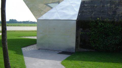 Schiebetore im Einklang mit der Fassade
