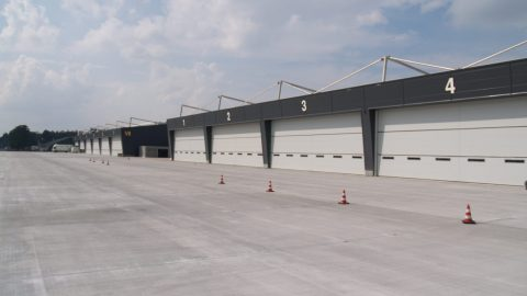 Eibruchhemmende tore - Armee Basis - Protec Industrial Doors