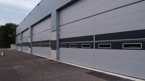 Sicherheit in Tore - Protec Industrial Doors