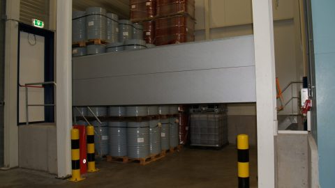 Flüssigkeitssperre - ADR - Protec Industrial Doors