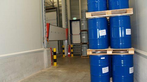 Flüssigkeitssperre - Hegron - Protec Industrial Doors