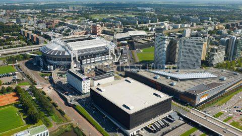 Luftaufnahme des Ziggo Dome Amsterdam - Cor Harteloh Fotografie