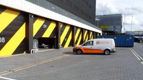 Ziggo Dome - Schalldämmenden Tore - Protec Industrial Doors