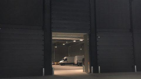 Schalldämmenden Sektionaltore - The Royal Arena - Protec Industrial Doors