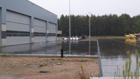 Einbruchhemmende Hangartore - Protec Industrial Doors