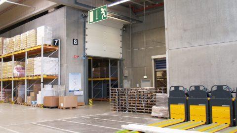Brandschutztore für die Lagerung brennbarer Güter für den Lidl