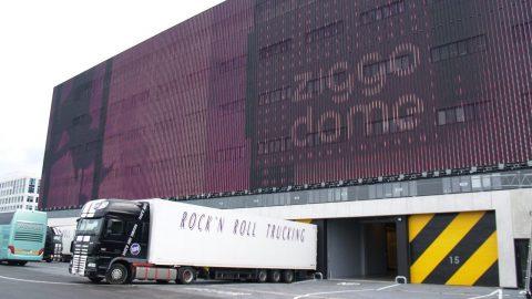 Schallschutz, Ziggo Dome, Tore, Sektionaltor, Akustike, Schalldämmende Tore