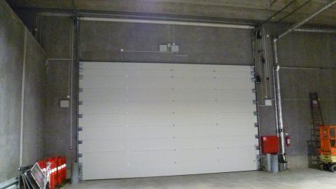 Sound insulating overheaddoors - Copenhagen Arena - Protec Industrial Doors